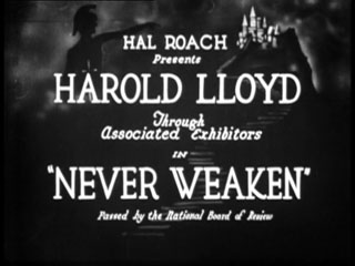 Never weaken movie title