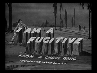 I am a fugitive from a chain gang trailer title