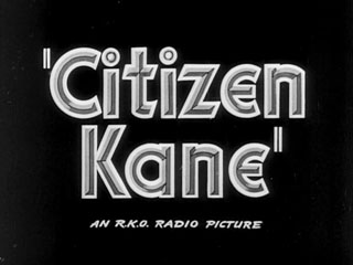 Citizen Kane trailer title