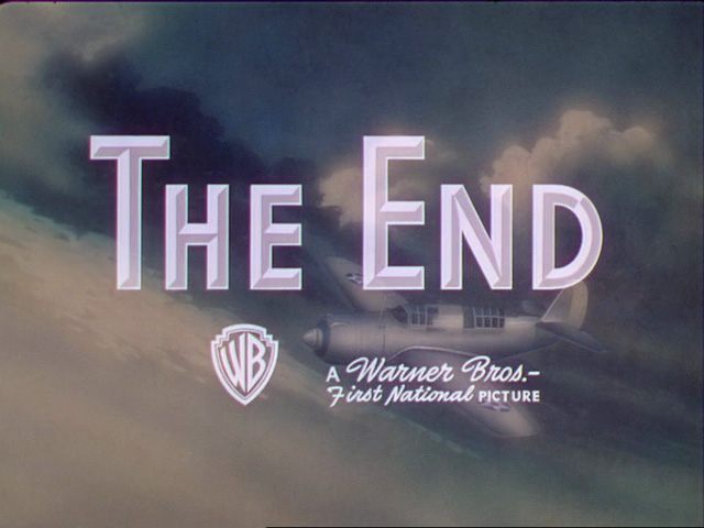 The end titles: Warner Bros  part 2 | The Movie title stills collection