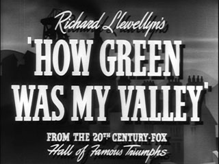 How green was my valley trailer title