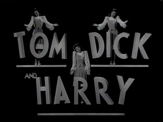 Tom, Dick and Harry movie title screen