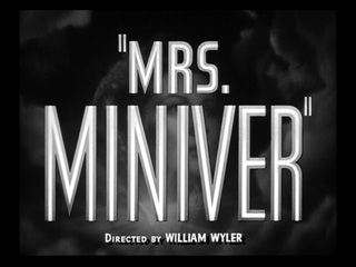 Mrs Miniver trailer title