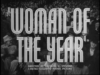 Woman of the year trailer title
