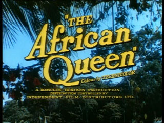 The African queen trailer title