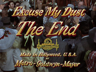 Excuse my dust movie title