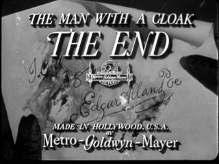 The man with a cloak movie title