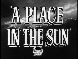 A place in the sun trailer title