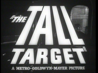 The tall target trailer title