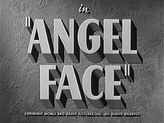 Angel face movie title