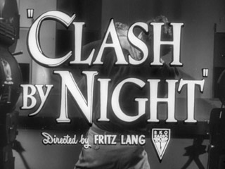 Clash by night trailer title
