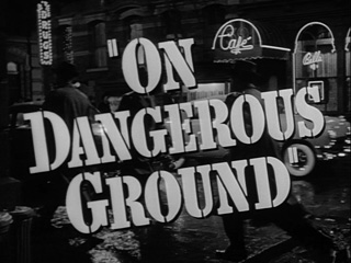 On dangerous ground trailer title