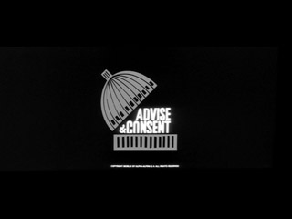 Advise and consent (1962) movie title