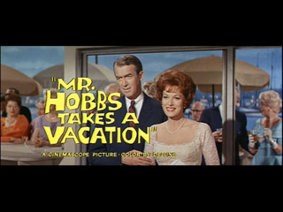 Mr. Hobbs Takes a Vacation trailer title