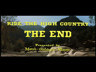Ride the high country movie title