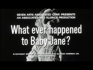 What ever happened to Baby Jane trailer title