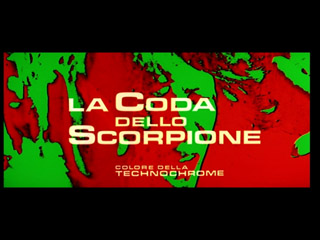 The case of the scorpion's tail movie trailer title