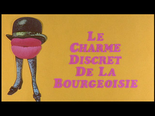 Discreet charm of the bourgeoisie trailer title