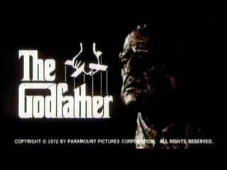The godfather movie trailer title