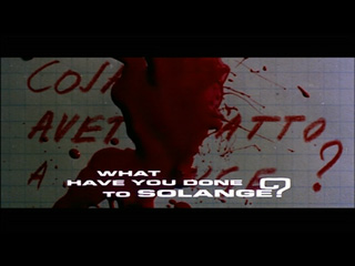What have you done to Solange trailer title