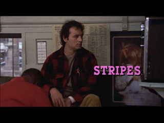 Stripes movie title