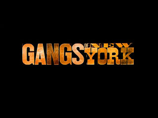 Gangs of New York movie title