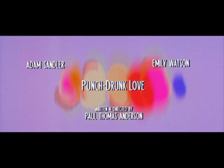Punch-drunk love movie title