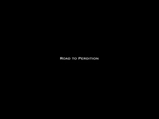 Road to Perdition movie title